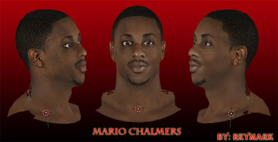 NBA 2K13 Mario Chalmers Cyberface Mod