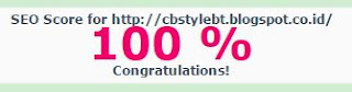 CB Style Blogger Template SEO