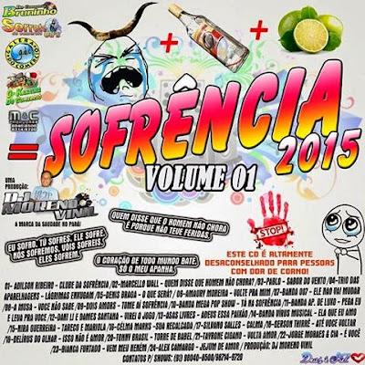 CD SOFRENCIA VOL.01 LANÇAMENTO 2015