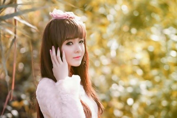 Ảnh gái đẹp HD xinh nhìn như búp bê 5