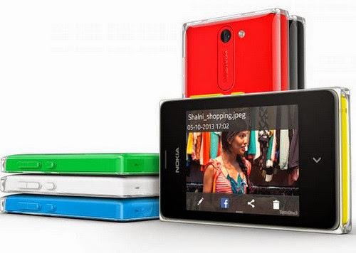 Điện thoại Asha được Nokia nâng cấp phần mềm