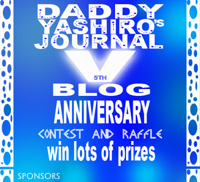 $150 or P6,000+++ Worth of Prizes @ Daddy Yashiro's Contests and