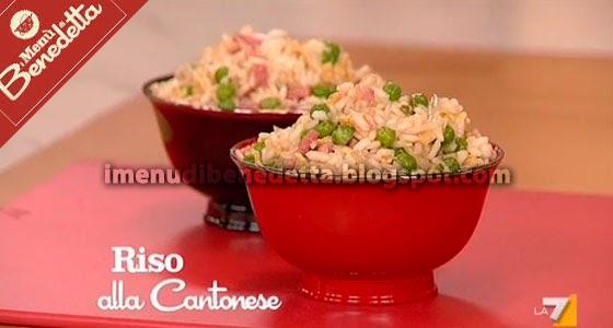 Riso alla cantonese la ricetta di benedetta parodi for Menu cinese ricette
