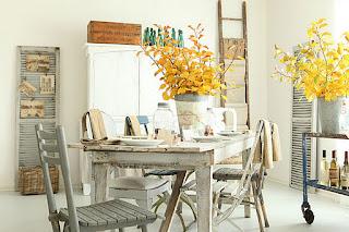 decoracion mesa otoño