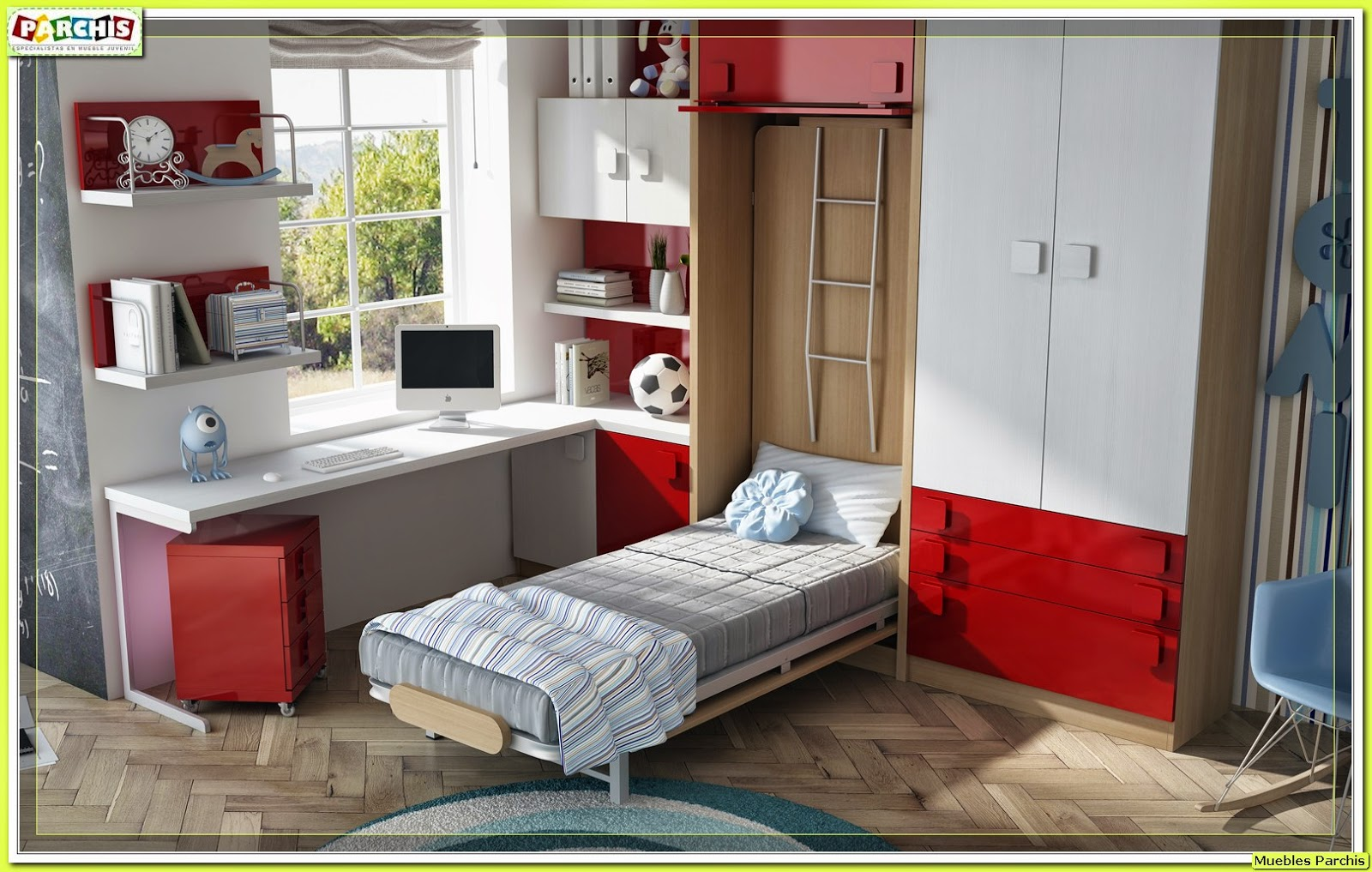 Literas infantiles online perfect with literas infantiles for Dormitorios juveniles abatibles