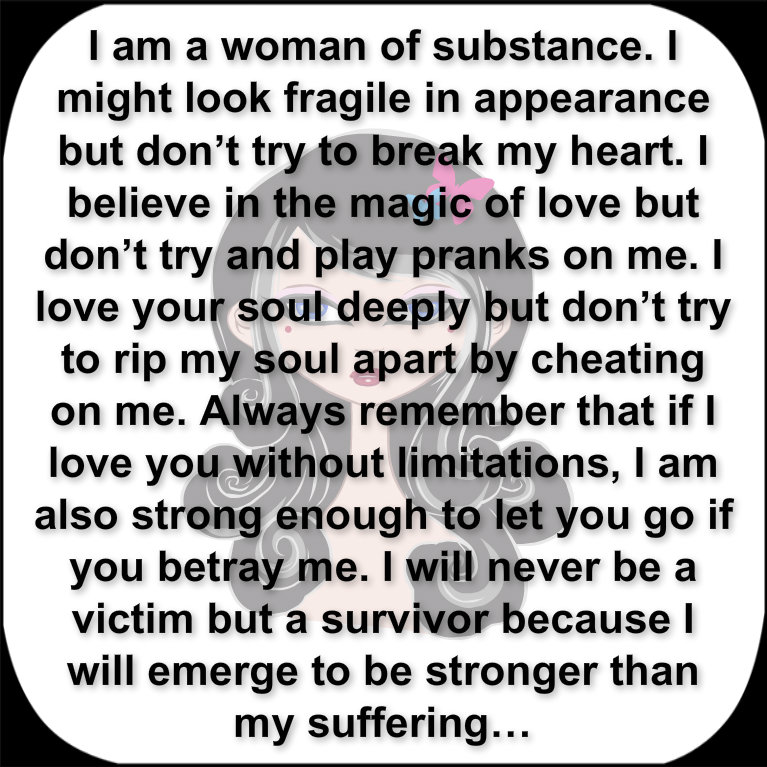 A woman of substance 5