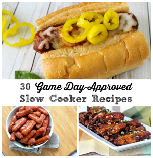 Put your slow cooker to work for the big game!