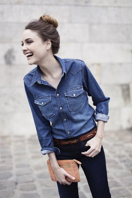Denim fashion for women แฟชั่นเสื้อยีนส์สำหรับผู้หญิง