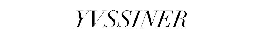 YVSSINER -Menswear & Lifestyle.