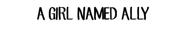 AGIRLNAMEDALLY