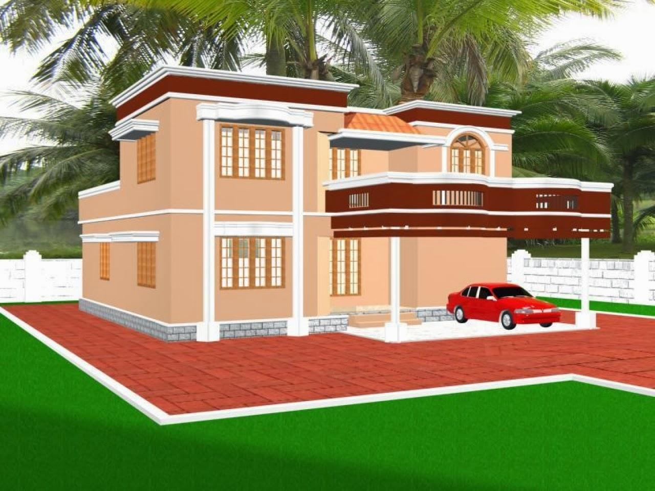 Beautiful house hd wallpaper beautiful desktop for Hd house elevation
