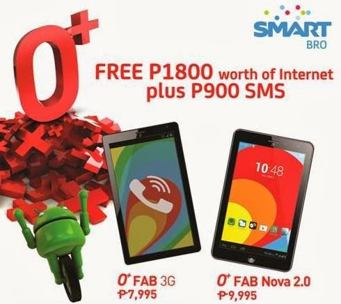 Get 900 SMS And Php1800 Worth Of Internet When You Buy O+ USA Tablet