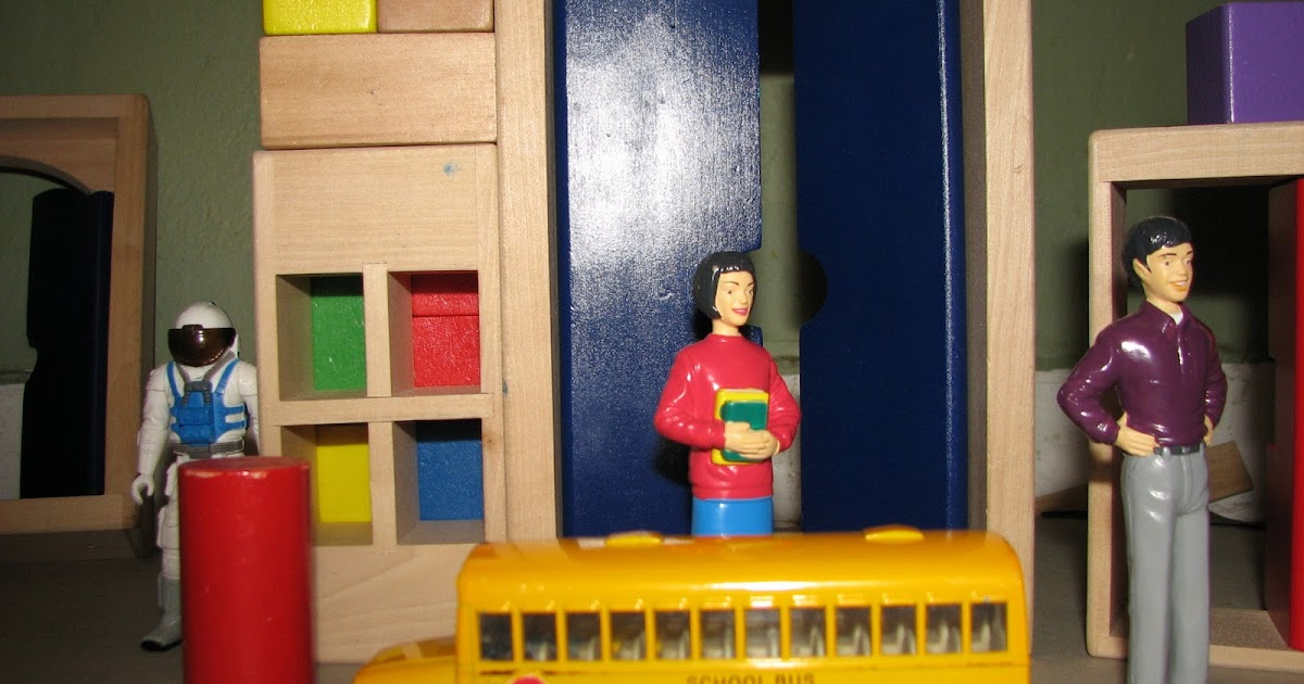 Toys As Tools Educational Toy Reviews: Unusual Door Blocks Opens The Way  For New Play