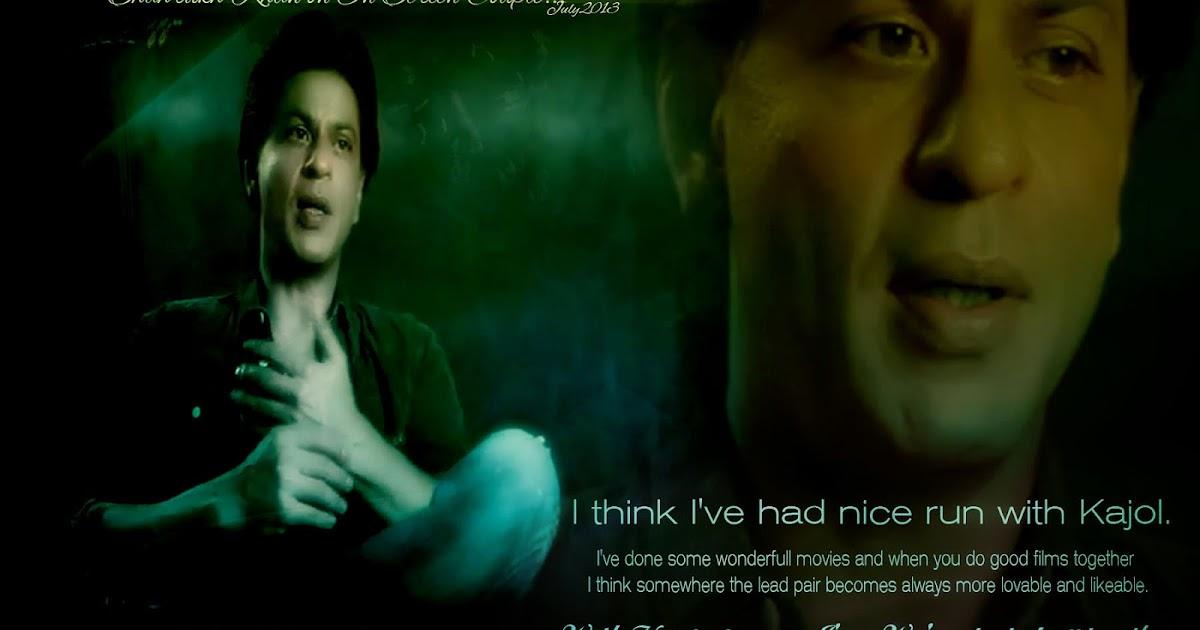 shahrukh khan wallpaper hd on kajol celebrity wallpapers