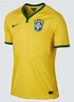 Nike Brazil Authentic Home Soccer 01 Jersey