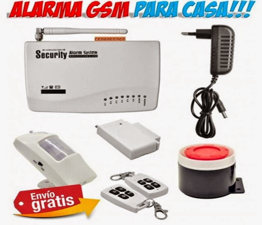 Alarmas para casa gsm f ciles de instalar seguridad vigilancia - Alarmas para casa precios ...
