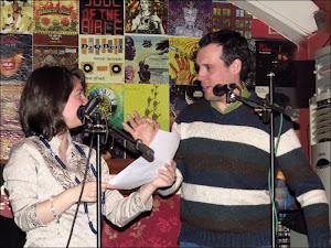 con Maria José Hérnandez