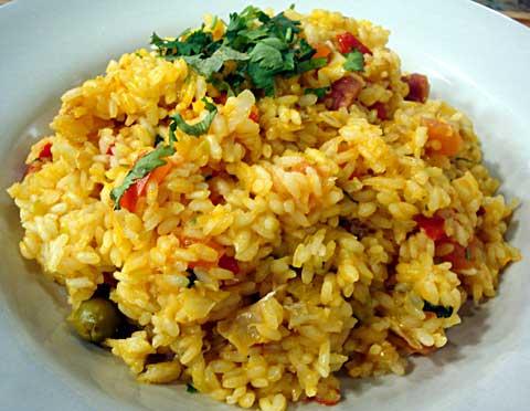Libro de recetas para mi hijo arroz con bacalao - Arroz con bacalao desmigado ...