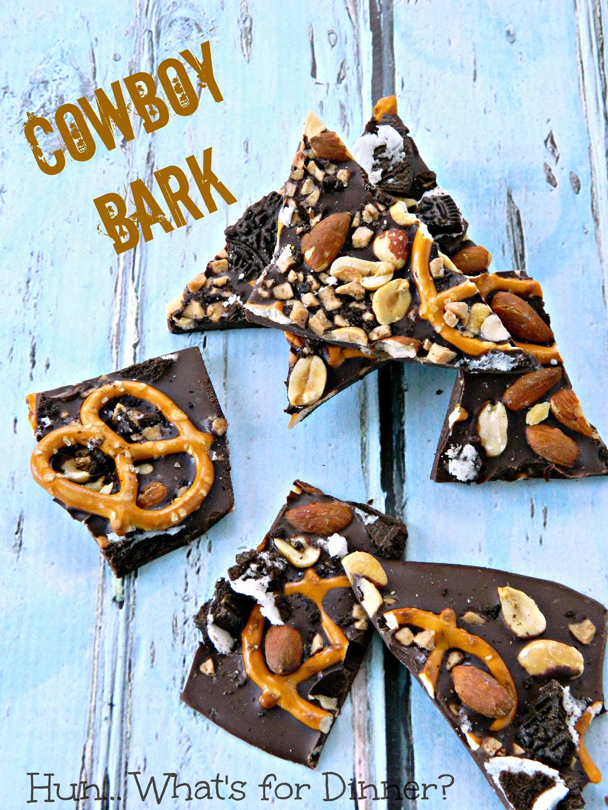 Cowboy Bark- Trader Joe's copycat recipe