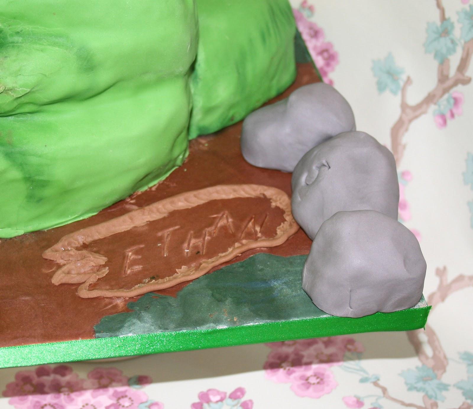 Chintzy Cakes T Rex Birthday Cake