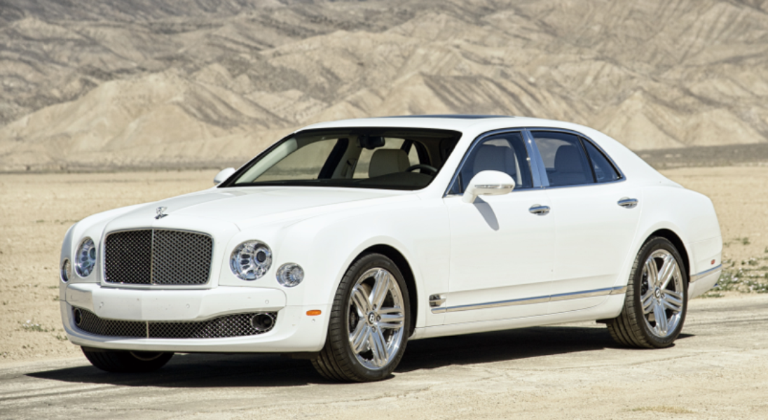 #8. Bentley Mulsanne