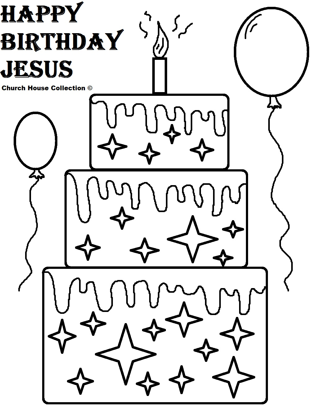 birthday coloring pages printable - Printable Birthday Coloring Pages