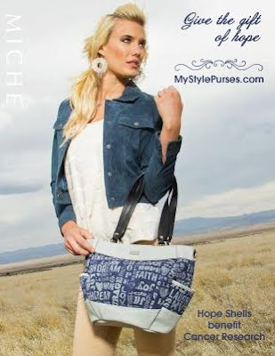 Miche Blue Hope Shells