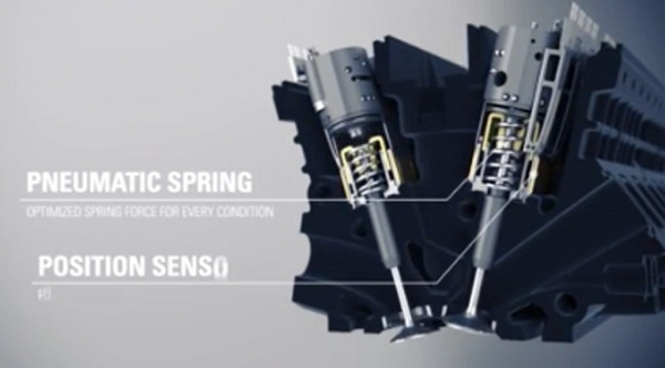 Koenigsegg está trabajando en un motor sin árbol de levas (video)