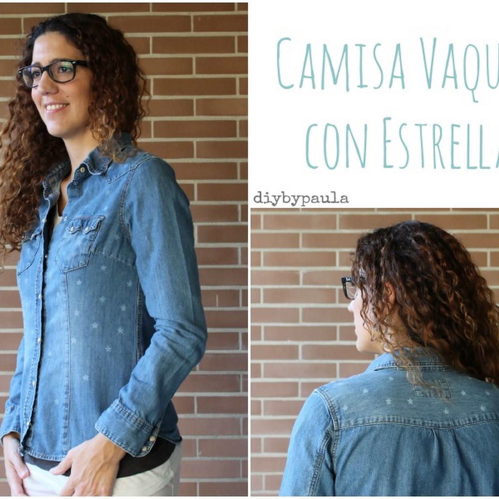 Camisa vaquera estrellada
