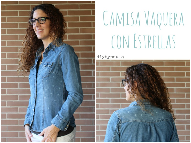 Camisa estampada DIY