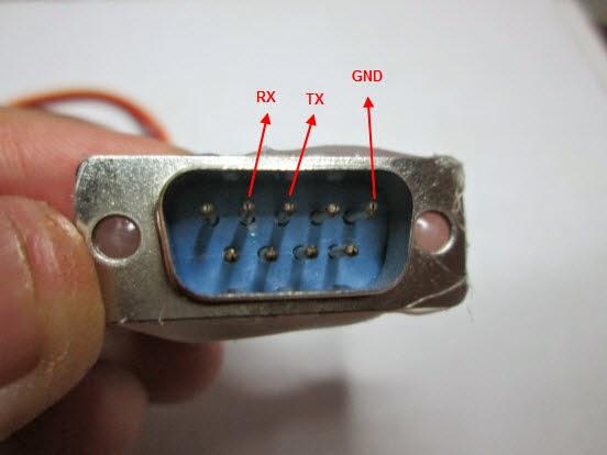 PIN kabel serial Kabel PIN DKU-5 Membuat USB to Serial RS232 dengan Kabel DKU-5 dan Ponsel Bekas