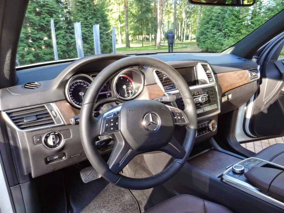 mercedes gl interior