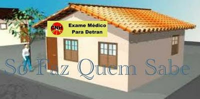 Exame médico em clínica credenciada pelo Detran