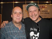 """con Daniel Aràoz, """"el hombre de al lado"""", en La Feria del Libro"""