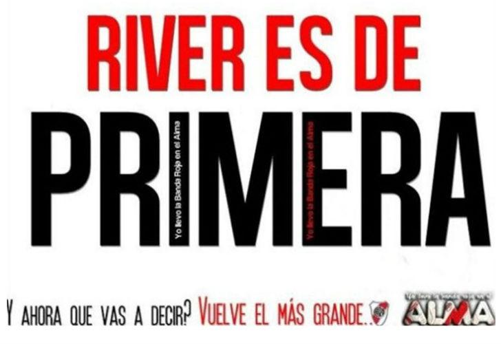 River Afiches Ascenso Los Afiches Por el Ascenso de