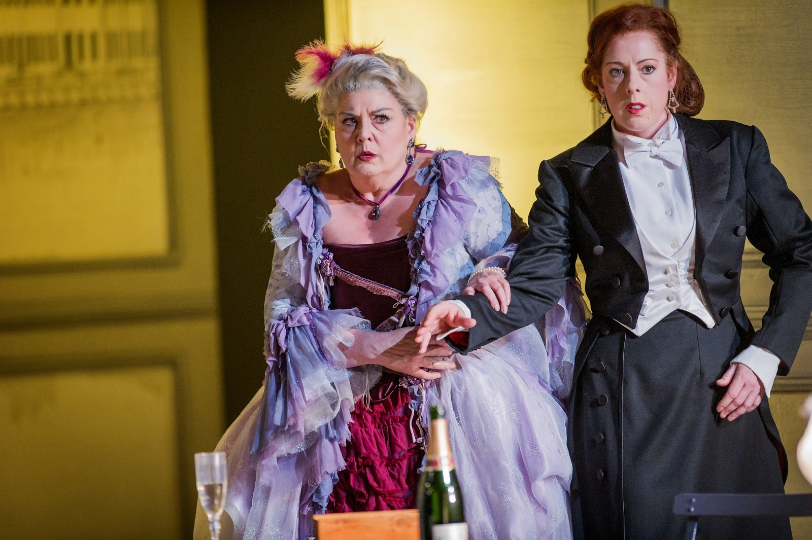 Anne Marie Owens and Giselle Allen - Tchaikovsky's Queen of Spades - Grange Park Opera