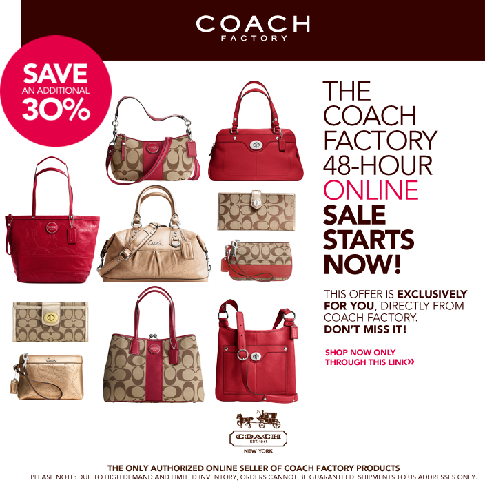 coach usa factory outlet online sale extra 30 off 2