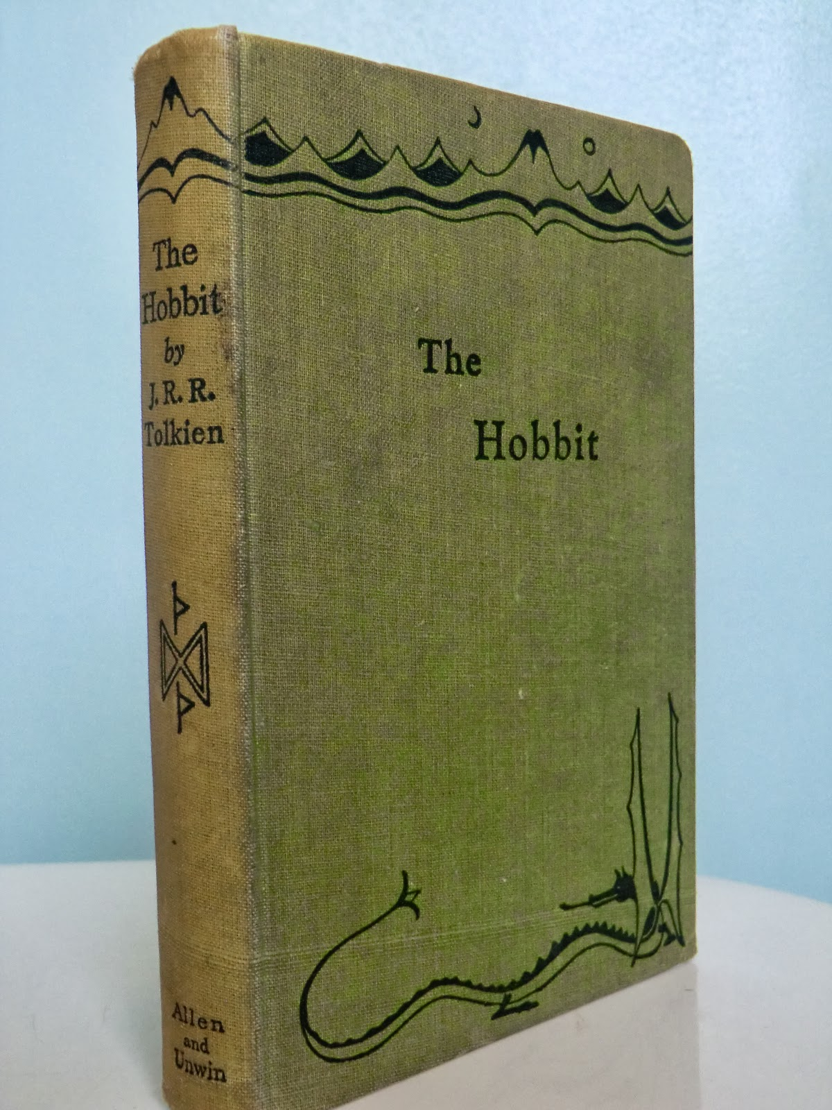 An Antique Books Guide: J.R.R Tolkien - Values Of The Hobbit, Lord ...