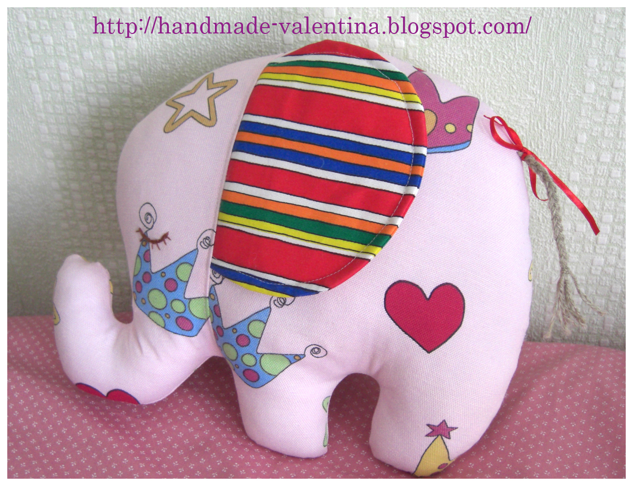 Подушка-слон своими руками 24