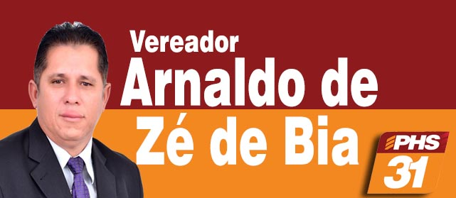 Vereador Arnaldo de Zé de Bia