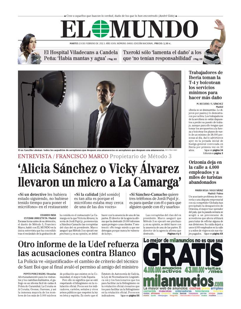 encajabaja | Diseño periodístico, Prensa: Portadas
