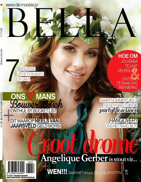 Angelique Gerber Magazine Photoshoot For BELLA South Africa Magazine