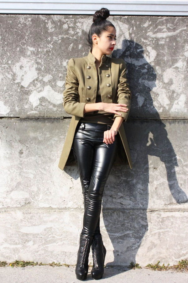 Muna 39 S Coolture One Look Three Budget The Military Jacket
