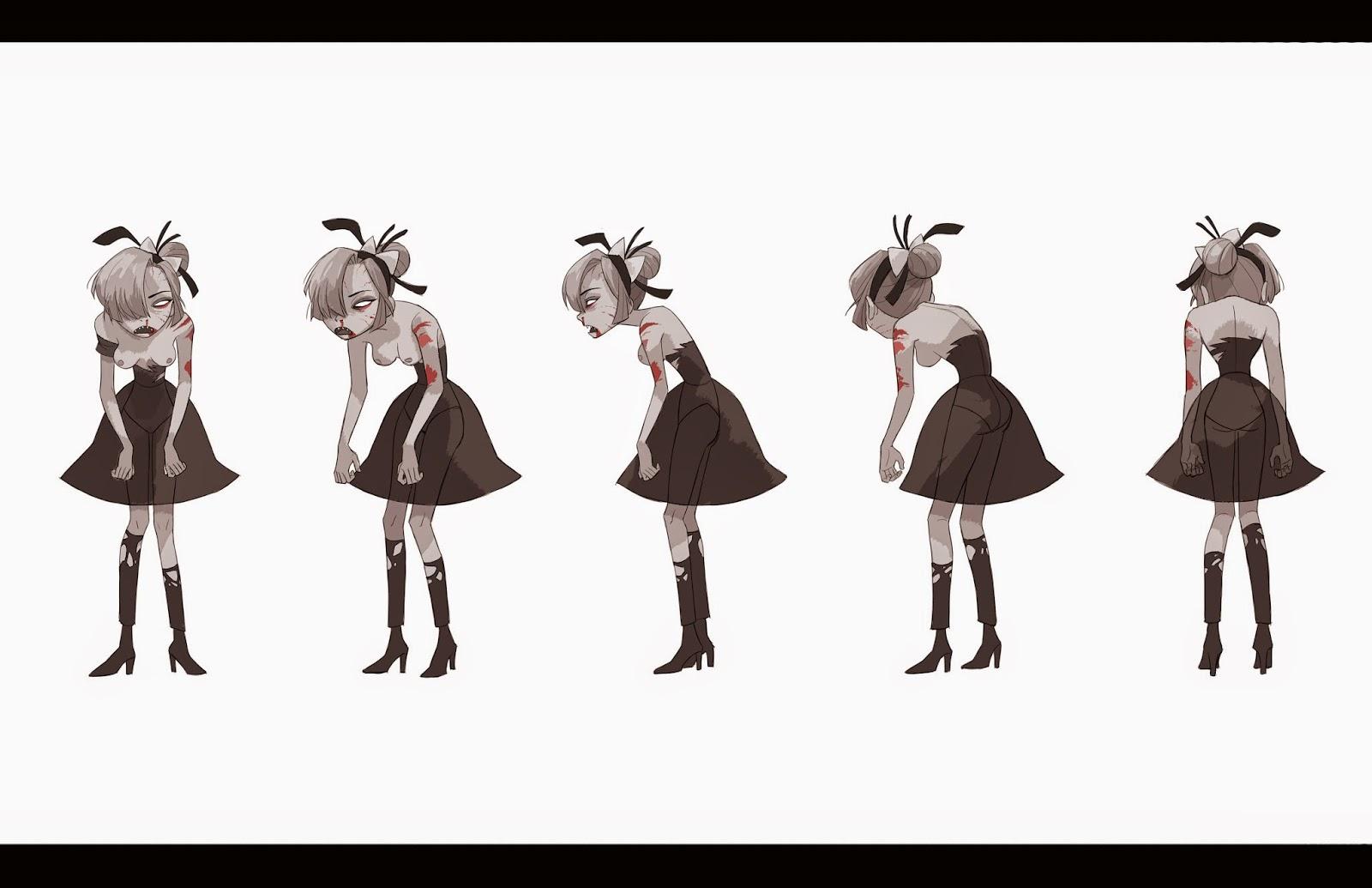 Calarts Character Design Portfolio : Mirae works yi character design portfolio
