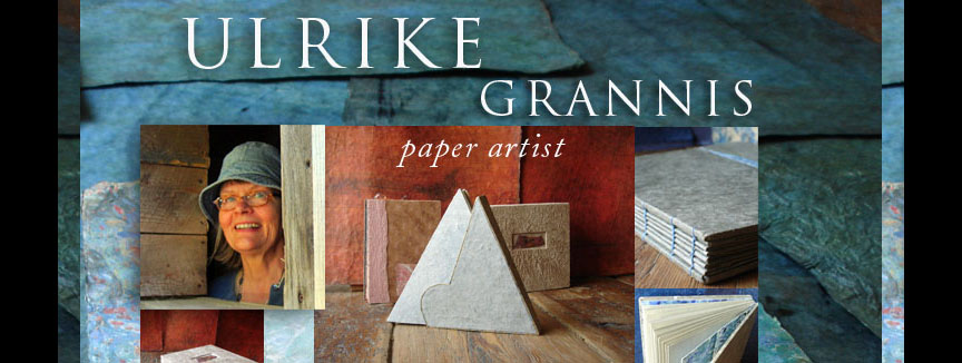 Ulrike Grannis, paper artist in Chatham New York