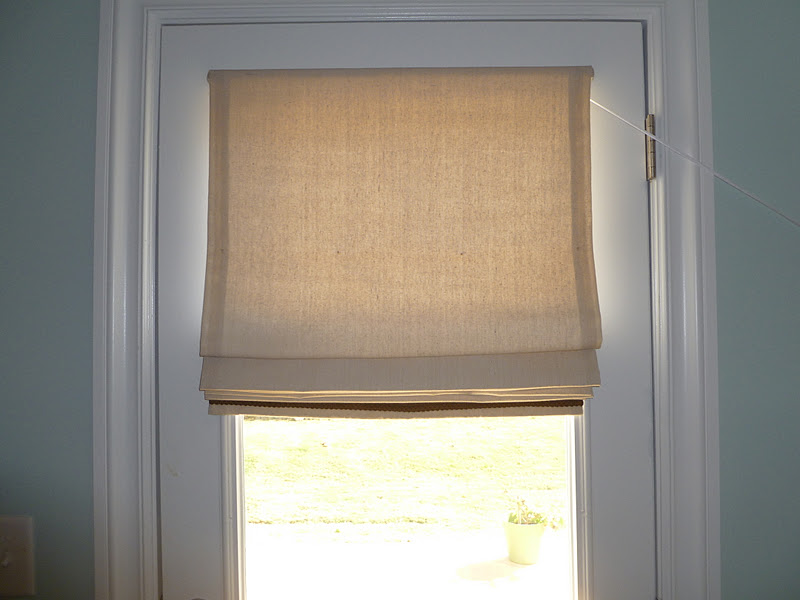 Beau Finished Project: Privacy Roman Shade