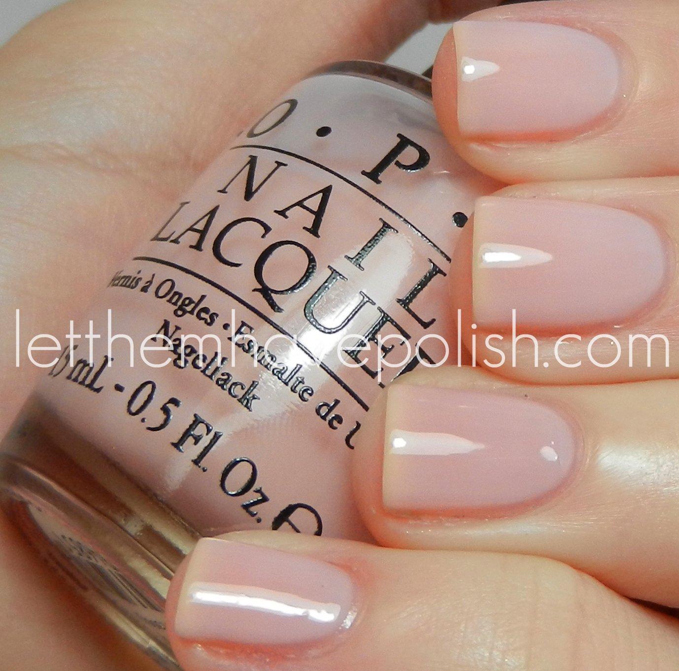 Sheer Pink Opi Nail Polish: O.P.I New York City Ballet Soft Shades For Spring 2012