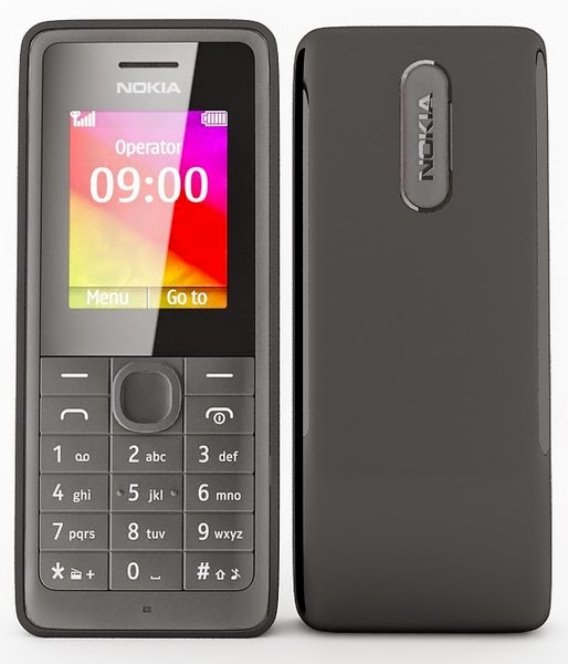 Nokia 106 Description and Specifications