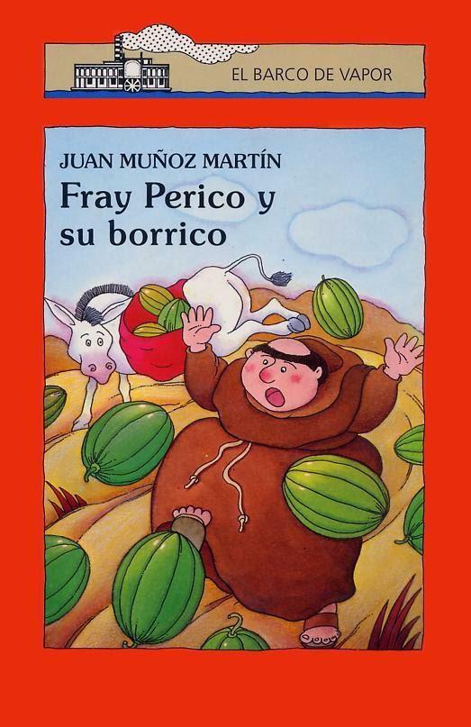 """Portada del libro """"Fray Perico y su borrico"""""""