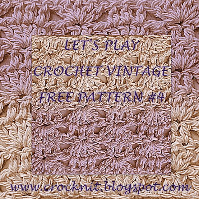 free crochet patterns, alternating shells, fans, how to crochet